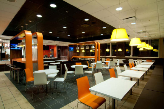 Mcdonalds Interior Design kti named regional designer for mcdonald's refresh program